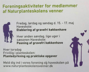 Haveskole på Naturplanteskolen