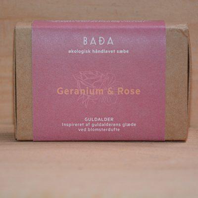 BADA sæbe med roser fra Naturplanteskolen
