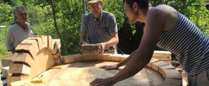 Byg din egen pizzaovn på Naturplanteskolen