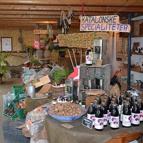 Gårdbutikken på Naturplanteskolen